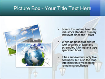 Solar powered PowerPoint Template - Slide 20