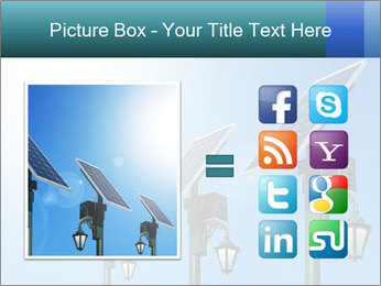 Solar powered PowerPoint Template - Slide 21