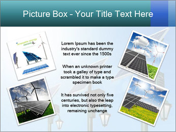 Solar powered PowerPoint Template - Slide 24