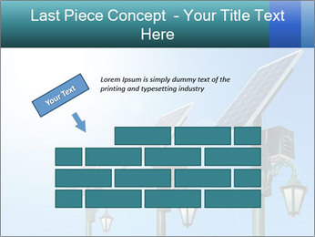 Solar powered PowerPoint Template - Slide 46