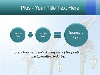 Solar powered PowerPoint Template - Slide 75