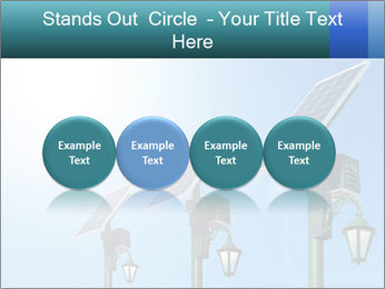 Solar powered PowerPoint Template - Slide 76
