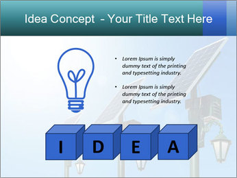 Solar powered PowerPoint Template - Slide 80