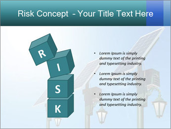 Solar powered PowerPoint Template - Slide 81