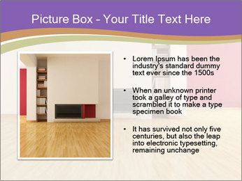 Empty modern interior PowerPoint Template - Slide 13