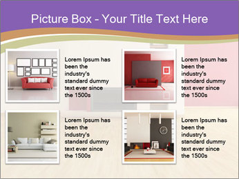 Empty modern interior PowerPoint Template - Slide 14