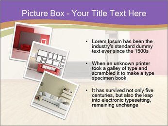 Empty modern interior PowerPoint Template - Slide 17