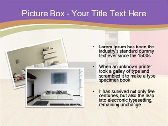 Empty modern interior PowerPoint Template - Slide 20