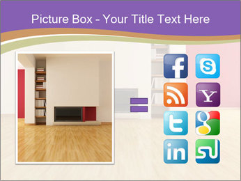 Empty modern interior PowerPoint Template - Slide 21