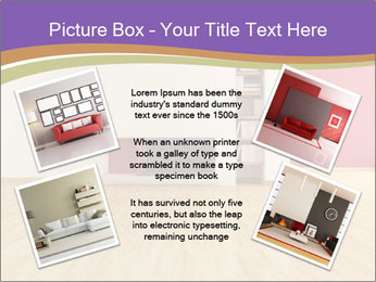 Empty modern interior PowerPoint Template - Slide 24