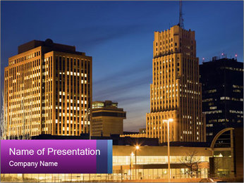 Skyline PowerPoint Templates - Slide 1
