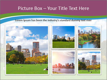 Manhattan skyline PowerPoint Template - Slide 19
