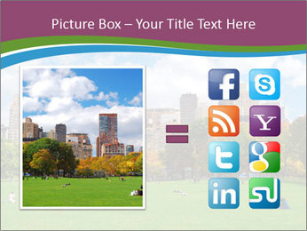 Manhattan skyline PowerPoint Template - Slide 21