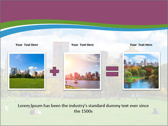 Manhattan skyline PowerPoint Template - Slide 22