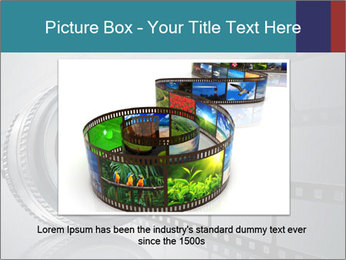 Film strip PowerPoint Template - Slide 16