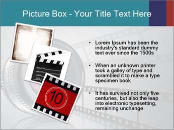 Film strip PowerPoint Template - Slide 17