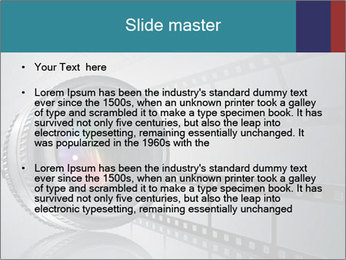 Film strip PowerPoint Template - Slide 2