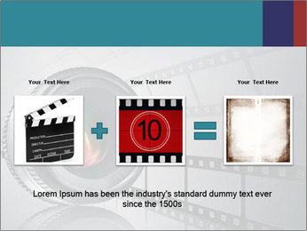 Film strip PowerPoint Template - Slide 22