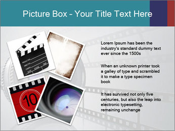Film strip PowerPoint Template - Slide 23