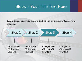 Film strip PowerPoint Template - Slide 4