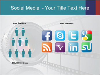 Film strip PowerPoint Template - Slide 5