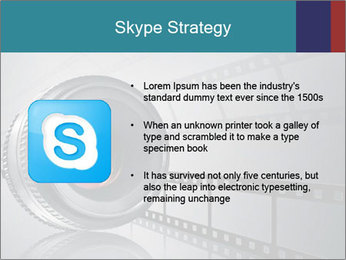 Film strip PowerPoint Template - Slide 8