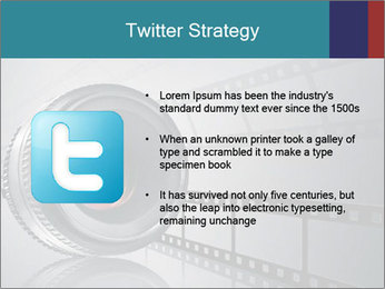 Film strip PowerPoint Template - Slide 9