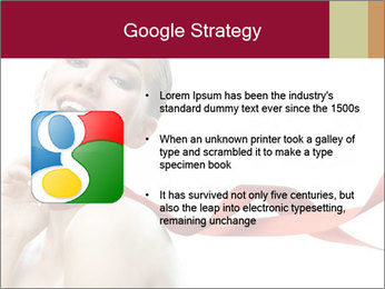 Beauty girl PowerPoint Template - Slide 10