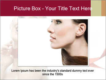 Beauty girl PowerPoint Template - Slide 15