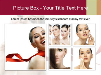 Beauty girl PowerPoint Template - Slide 19