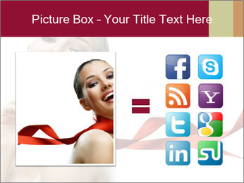 Beauty girl PowerPoint Template - Slide 21