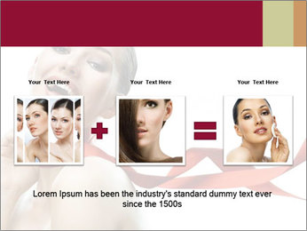 Beauty girl PowerPoint Template - Slide 22