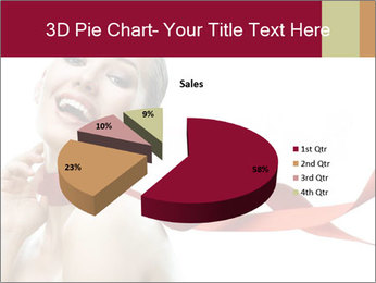 Beauty girl PowerPoint Templates - Slide 35