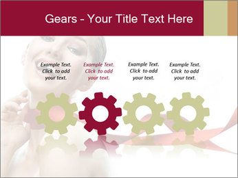 Beauty girl PowerPoint Template - Slide 48