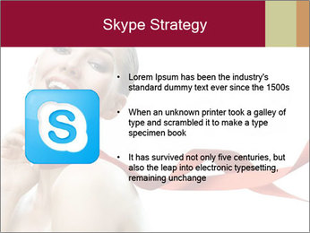 Beauty girl PowerPoint Template - Slide 8