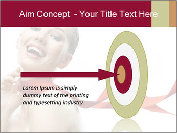 Beauty girl PowerPoint Template - Slide 83