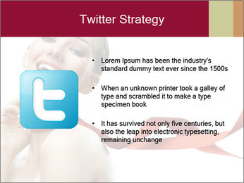 Beauty girl PowerPoint Template - Slide 9