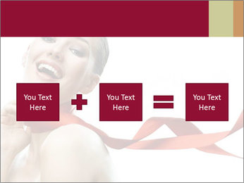 Beauty girl PowerPoint Template - Slide 95