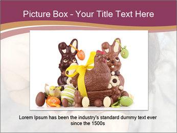 Sensual brunette PowerPoint Template - Slide 15
