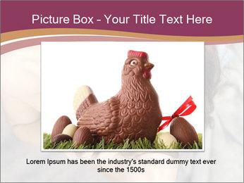 Sensual brunette PowerPoint Template - Slide 16
