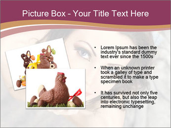 Sensual brunette PowerPoint Template - Slide 20