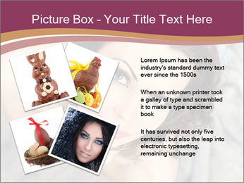 Sensual brunette PowerPoint Template - Slide 23