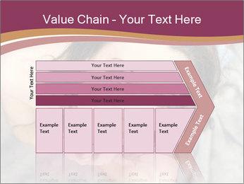 Sensual brunette PowerPoint Template - Slide 27