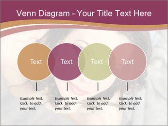 Sensual brunette PowerPoint Template - Slide 32