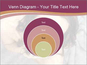 Sensual brunette PowerPoint Template - Slide 34