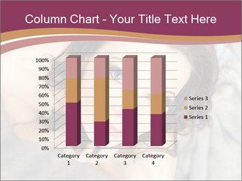 Sensual brunette PowerPoint Template - Slide 50