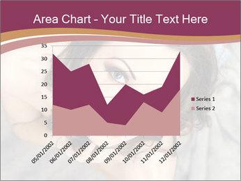 Sensual brunette PowerPoint Template - Slide 53