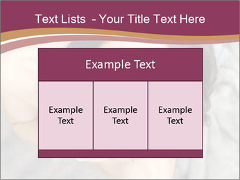 Sensual brunette PowerPoint Template - Slide 59