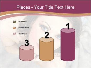 Sensual brunette PowerPoint Template - Slide 65