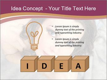 Sensual brunette PowerPoint Template - Slide 80